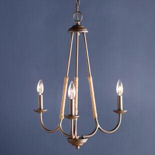 Reviews Gilbertsville 3-Light Candle Style Chandelier By Three Posts
