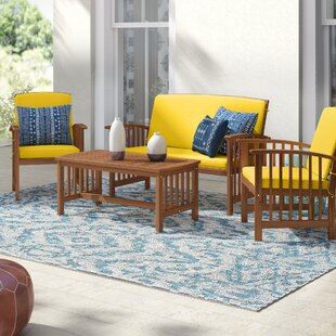 Simmons 4 Piece Sofa Seating Group with Cushions