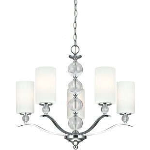 House of Hampton Astoria 5-Light Shaded Chandelier