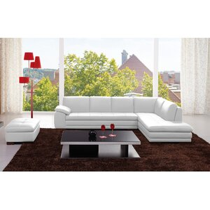 Lyndsey Leather Sectional