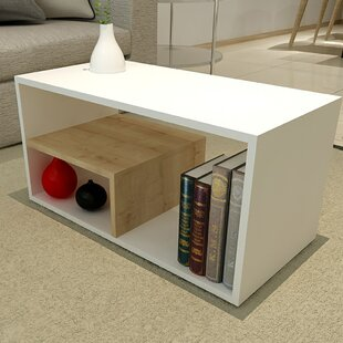 Coupon Germain Modern Coffee Table by Ebern Designs