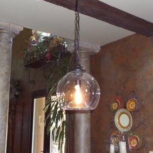 Celie 1-Light Bowl Pendant by Gracie Oaks
