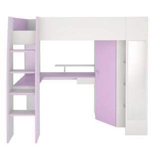 Den Helder High Sleeper Twin Loft Bed by Zoomie Kids