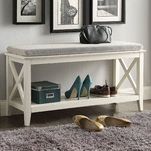 Little Elm Wood Storage Bench