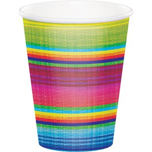 Serape Paper Disposable Cup (Set of 24)