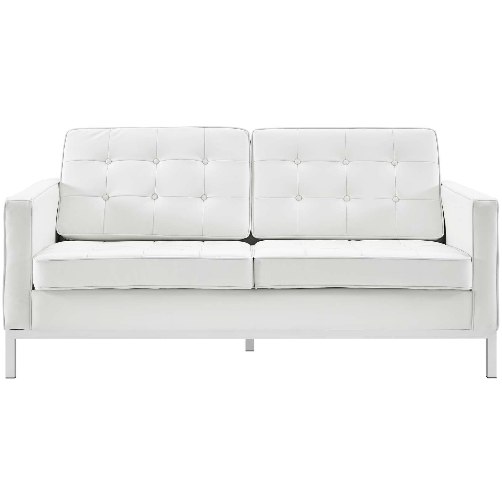 Picture of: High Back White Loveseats You Ll Love In 2020 Wayfair