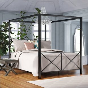 Willa Arlo Interiors Gilma Canopy Bed