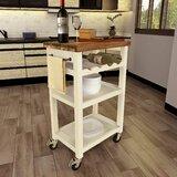 Starki Kitchen Cart by Gracie Oaks