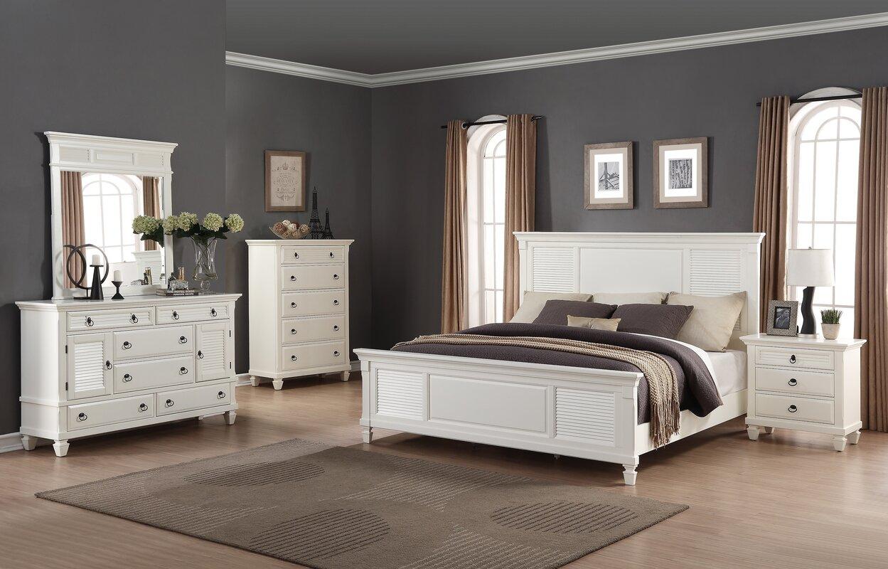 Regitina Queen Platform 5 Piece Bedroom Set