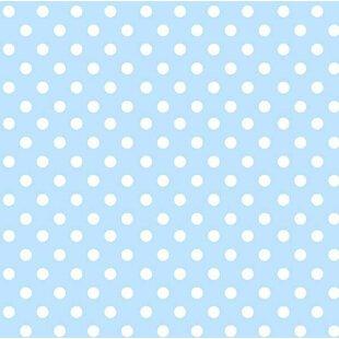 Pastel Polka Dots Woven Crib Sheets (Set of 3) BySheetworld