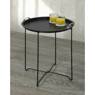 Compare prices Zain Tray Table By Ebern Designs