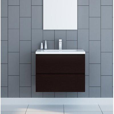 Modern Single Wall Mounted Bathroom Vanities Allmodern