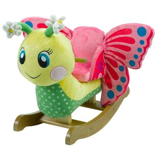 Find a Critters Flutter Butterfly Rocker By Rockabye