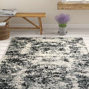Price comparison Pinson Black/White Area Rug By Gracie Oaks