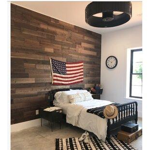 Reclaimed Wood Wallpaper Wayfair