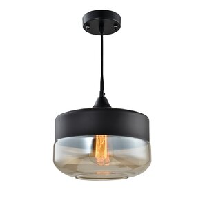 Woodbridge Lighting Fuse 1-Light Jar Pendant