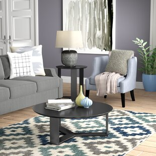 Emiliah 2 Piece Coffee Table Set