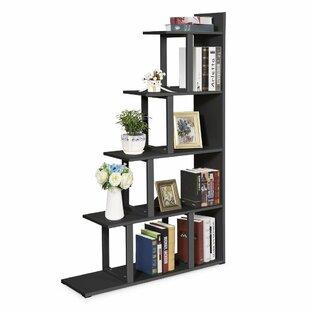 Ebern Designs Ramsauer 5 Shelf Ladder Corner Bookcase