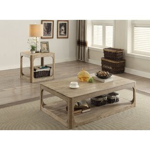 Zaina 2 Piece Coffee Table Set
