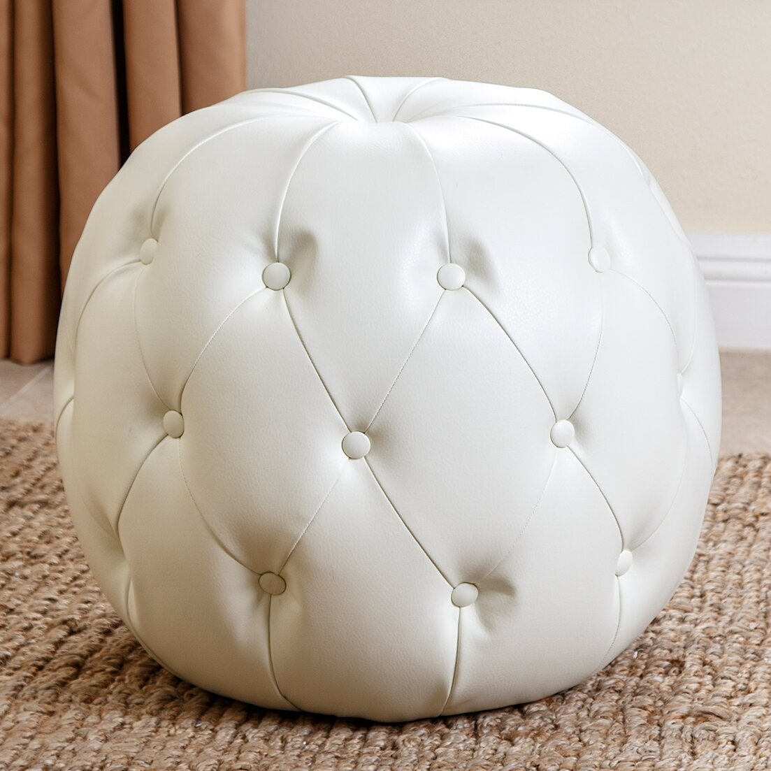 Pleasant Lafond Tufted Pouf Unemploymentrelief Wooden Chair Designs For Living Room Unemploymentrelieforg