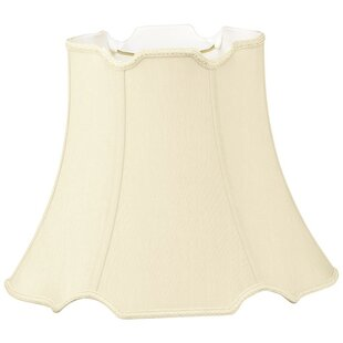 Affordable 18 Silk/Shantung Bell Lamp Shade By Alcott Hill
