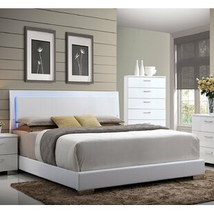 Templeman Upholstered Panel Bed