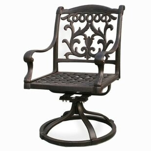 Pyxis Swivel Patio Dining Chair