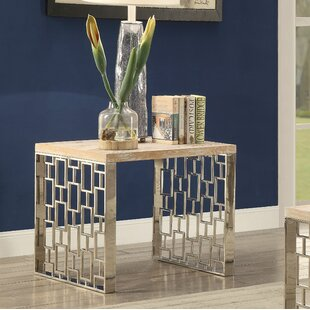 Buy clear Gunner End Table by Foundry Select