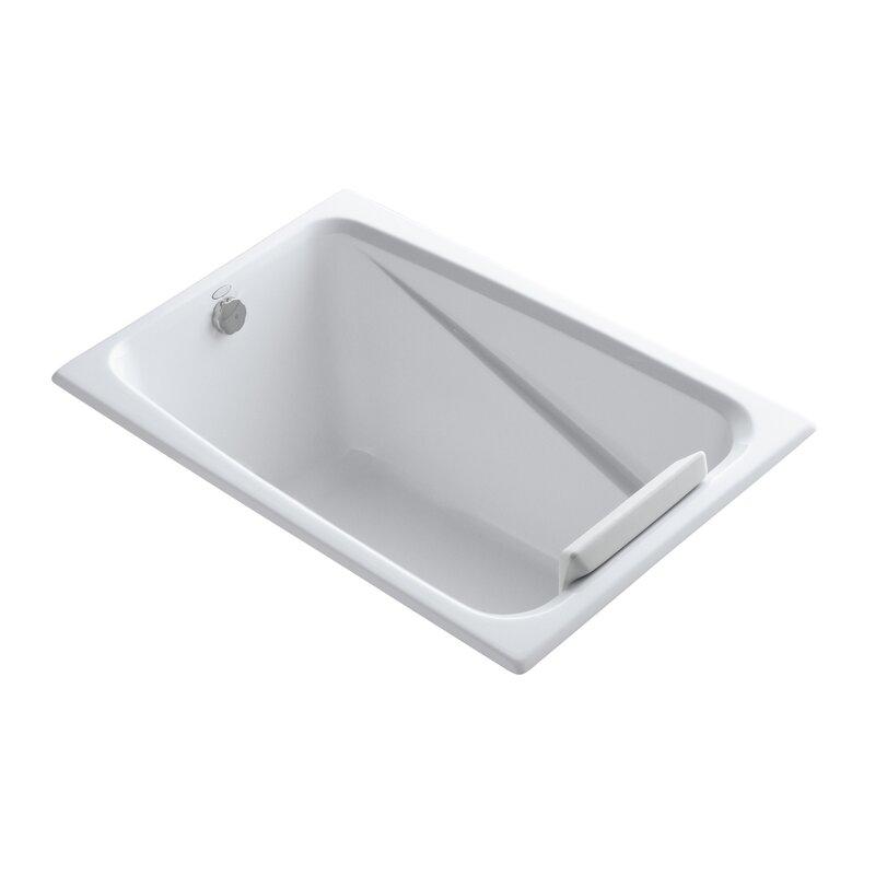 """Greek 48"""" x 32"""" Drop-in Soaking Bathtub"""