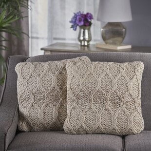 Lubbers Wool Throw Pillow (Set of 2)