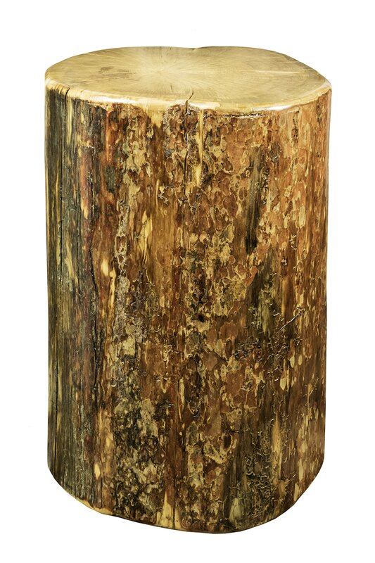 Attractive Tustin Cowboy Stump End Table