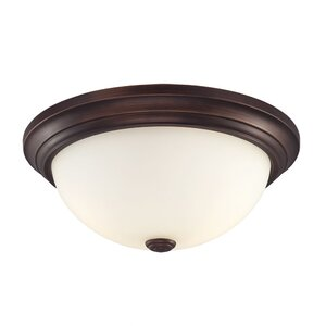 Simonsen 2-Light Flush Mount