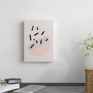 'Numbers' Canvas Art By East Urban Home