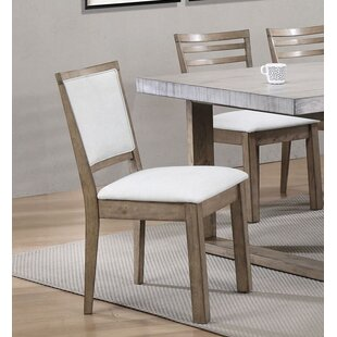 Compare prices Cleveland Upholstered Dining Chair (Set of 2) by Rosecliff Heights Reviews (2019) & Buyer's Guide