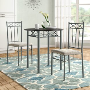 Cossey 3 Piece Dining Set by Fleur De Lis Living Best Design