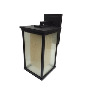 Affordable Oakhill 1-Light Oiled Bronze Outdoor Wall Lantern By Charlton Home