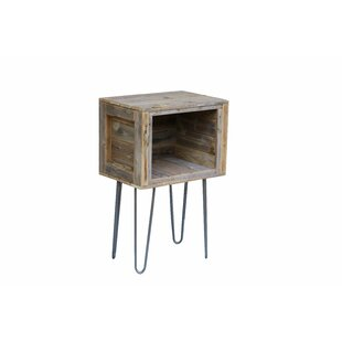 Adeliza Rustic End Table