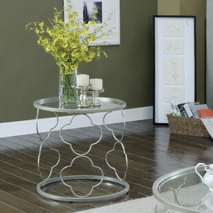 Triston End Table by Rosdorf Park