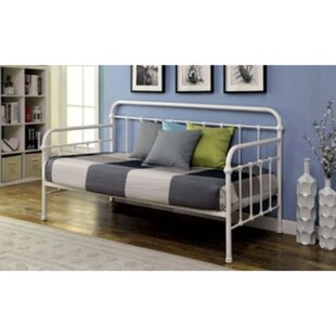 Valliere Powder Coated Platform Daybed by August Grove