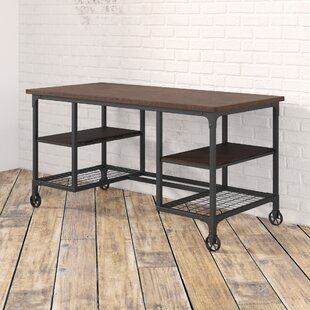 Rocklin Solid Wood Writing Desk
