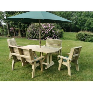 Rutherford 6 Seater Dining Set By Sol 72 Outdoor