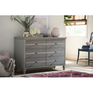 Debonair 6 Drawer Double Dresser