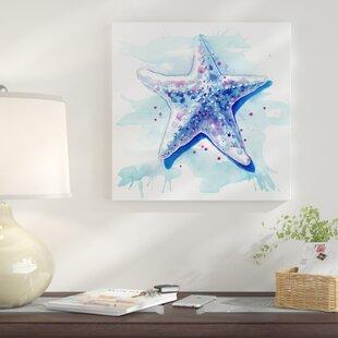 'Starfish Waters I' Print By East Urban Home