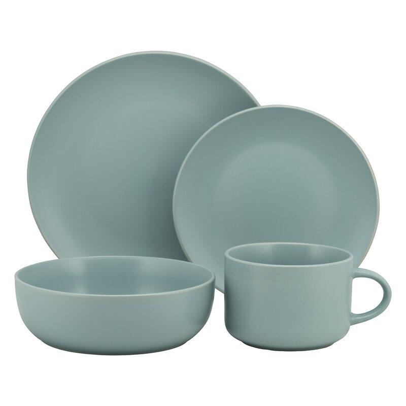 Wickham 16 Piece Dinnerware Set, Service for 4