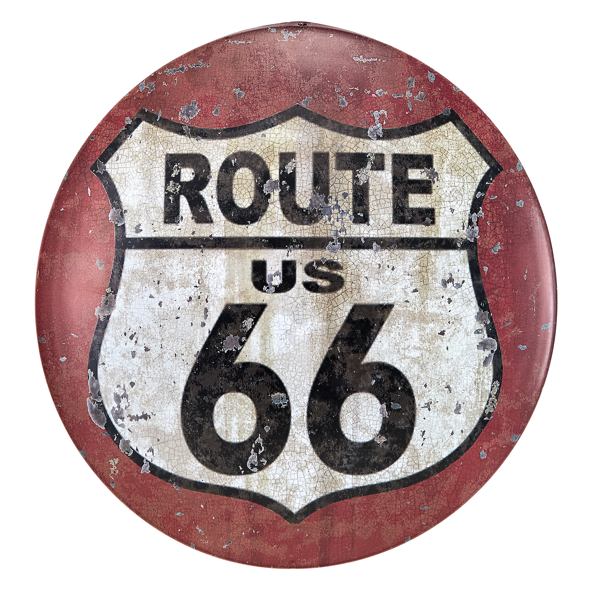 Design Toscano Route 66 Antique Look Tintype Wall Dcor Wayfair
