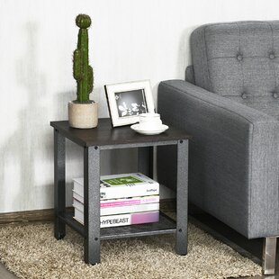 Fritz Industrial 2-Tier End Table By Williston Forge