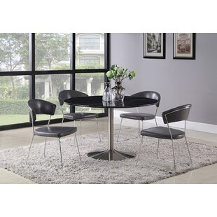 Weddle 5 Piece Dining Set by Orren Ellis Today Only Sale