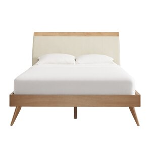 Leominster Upholstered Platform Bed by Langley Street