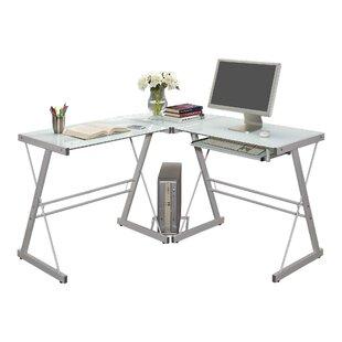 45b381c38ca Ketter Reversible Glass L-Shape Computer Desk