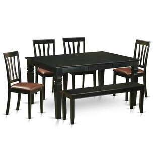 Weston 6 Piece Dining Set by Wooden Impor..